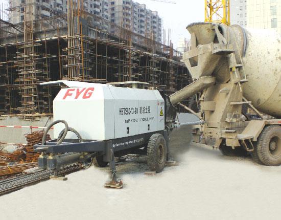 HBTS60-13-90混凝土泵—邯郸盛海蓝郡大厦工程