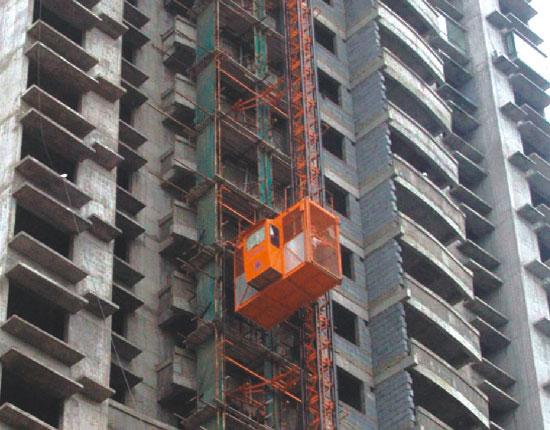 SCD200/200施工升降机—烟台国际双星工地