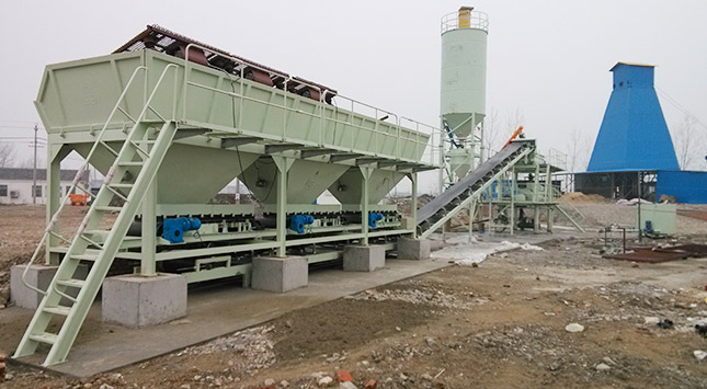 马鞍山矿山研究所以及天长市开源矿业有限责任公司各1台LWBZ300连续式矿用回填设备