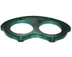 混凝土泵眼镜板