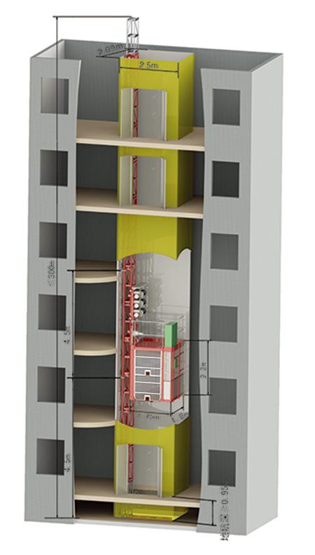SC100井道式施工升降机